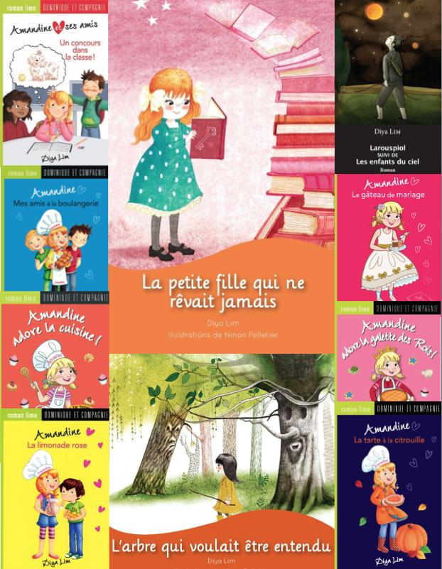 Dix livres pour votre plaisir! Ten books to please you!
